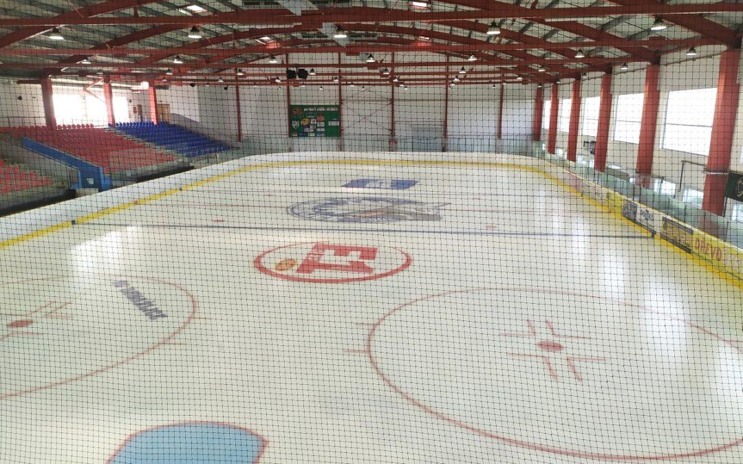 Obsazenost ledu na zimním stadionu
