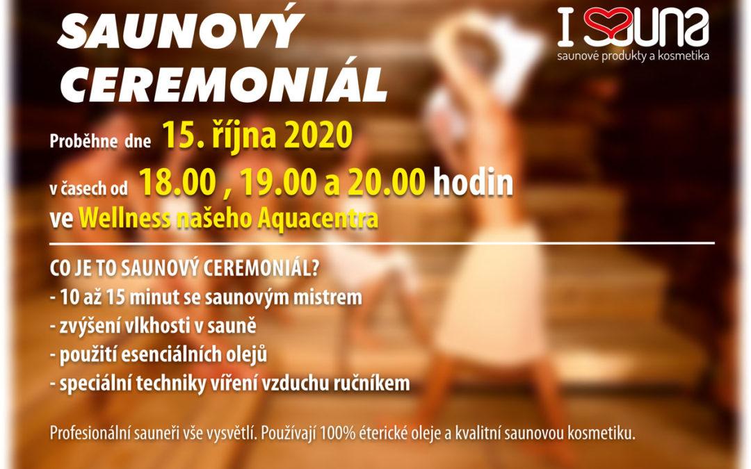 Saunový ceremoniál v říjnu 2020