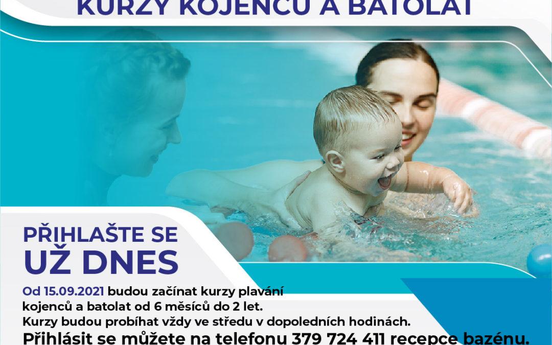 Kurz plavání pro děti